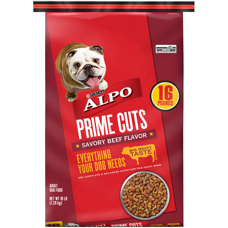 Alpo Dry Dog Food - 16lbs, Savory Beef