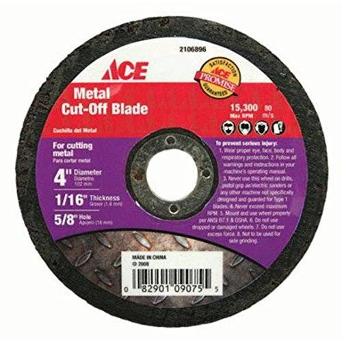 Metal & Steel Cut-Off Blade Ace Cutoff Wheels - 4''