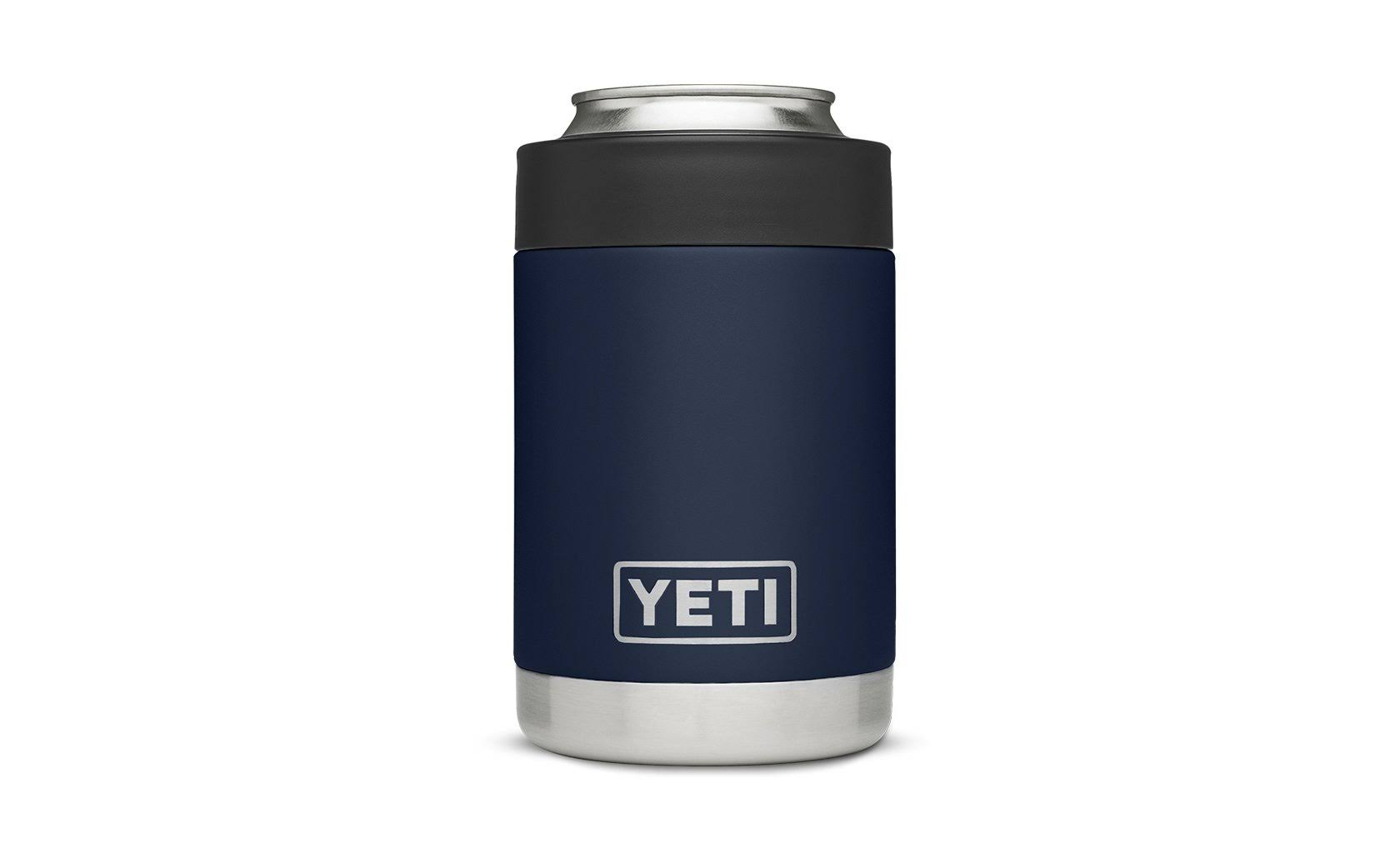 Yeti Rambler Colster - Stainless Steel, Navy Blue