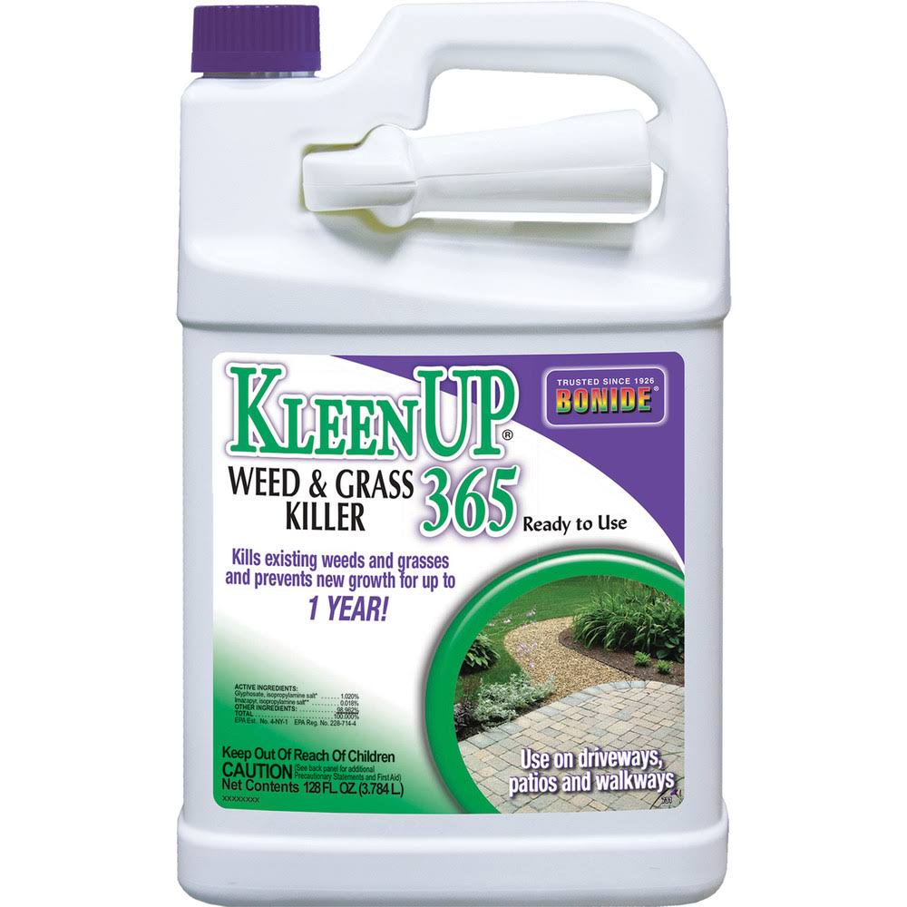 Bonide 731 Kleenup-365 Weed and Grass Killer, Ready to Use, 1 Gallon