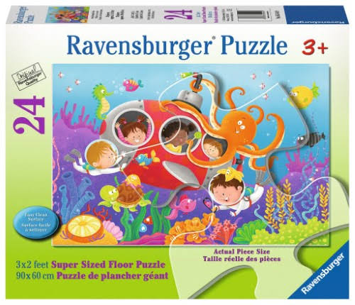 Ravensburger Deep Diving Friends Jigsaw Puzzles - 24pcs