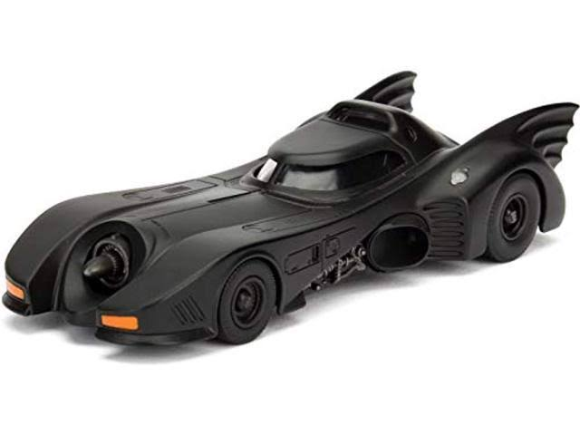 Jada Toys Batman 1989 Movie Metals Batmobile Vehicle - 1:32 Scale