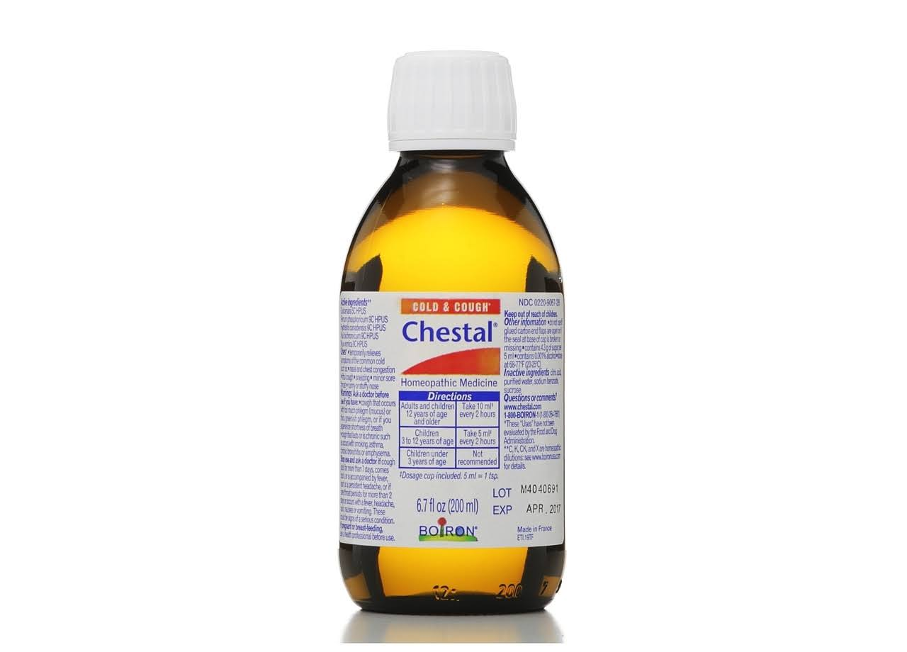 Chestal Adult Cold and Cough Syrup - 6.7oz