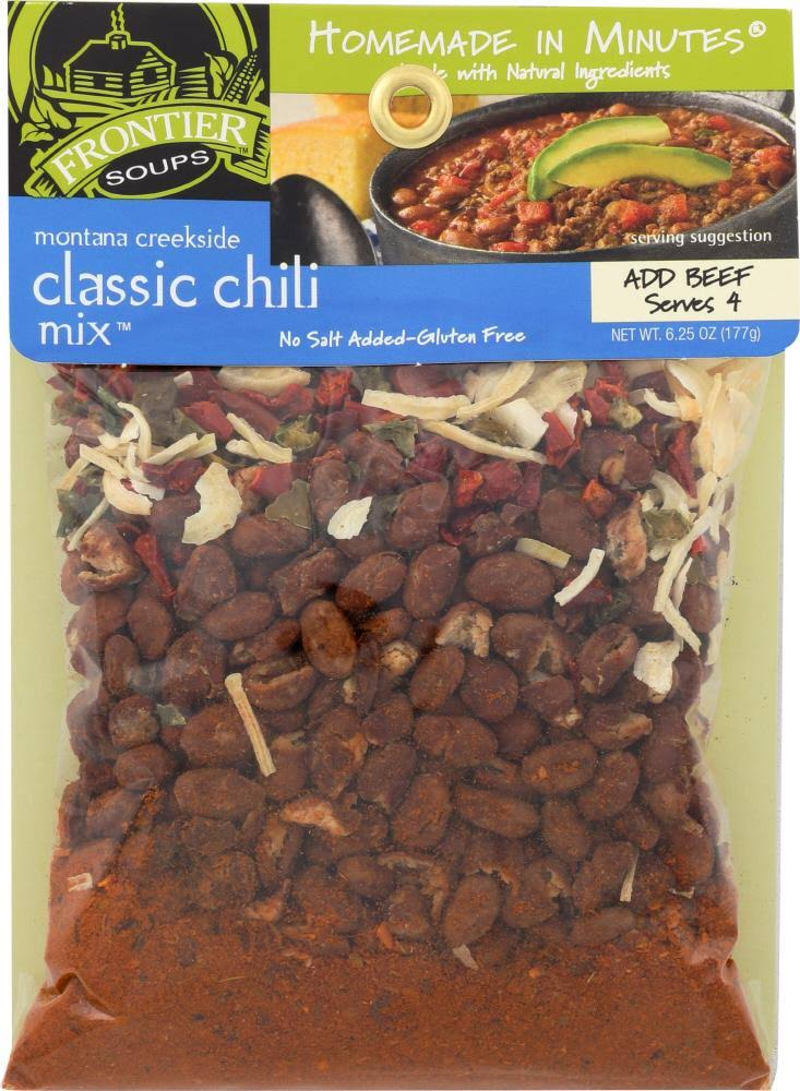 Frontier Soup: Mix Chili Classic Montana, 6.25 oz