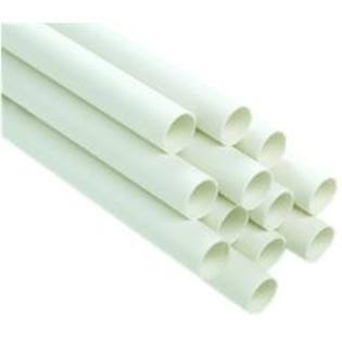 Genova 1/2 in. PVC Schedule 40 Pressure Pipe - 10 ft.