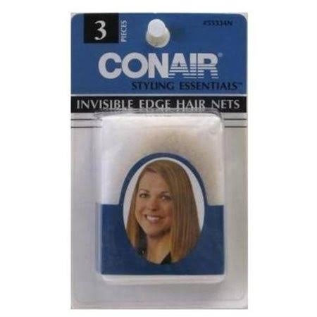 Conair Styling Essentials Blond or Grey Invisible Edge Hair Nets