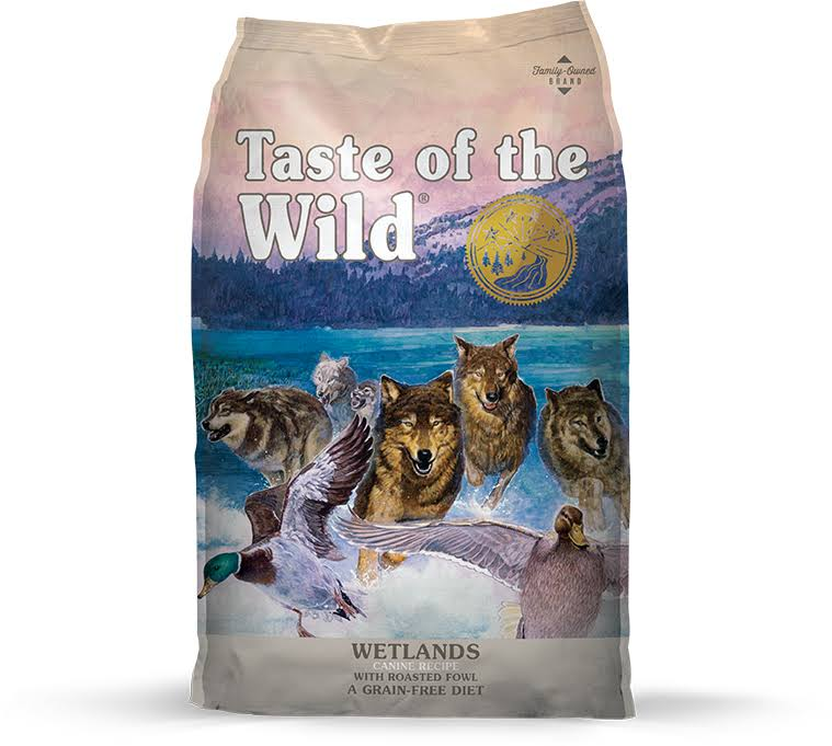 Taste of The Wild Wetlands Dry Dog Food - 28-lb