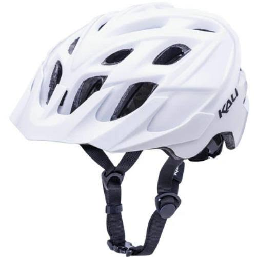 Kali Protectives Chakra Solo Helmet-Solid White