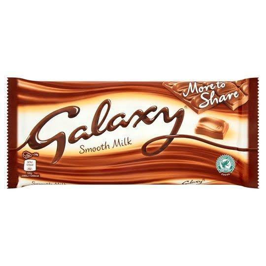 Galaxy Smooth Milk Chocolate - 200g