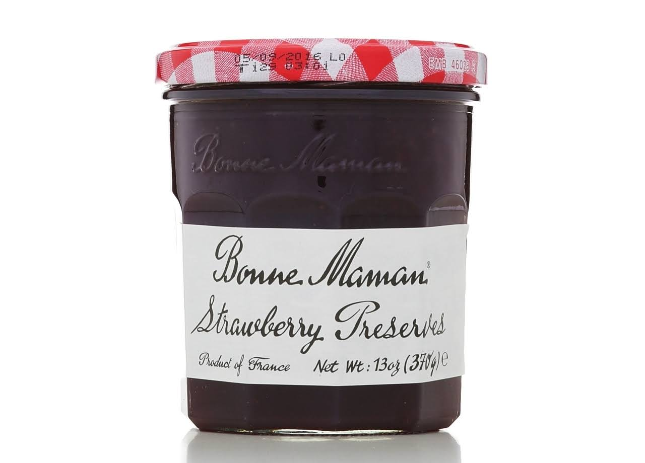 Bonne Maman Preserves Jam - Strawberry, 13oz