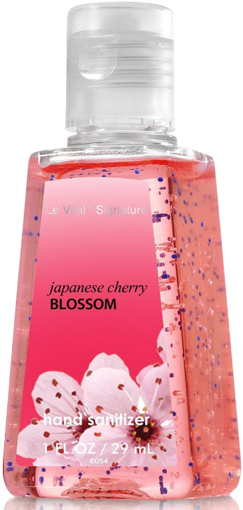 Le Vital Signature 1930486 Japanese Cherry Blossom Hand Sanitizer - 1oz