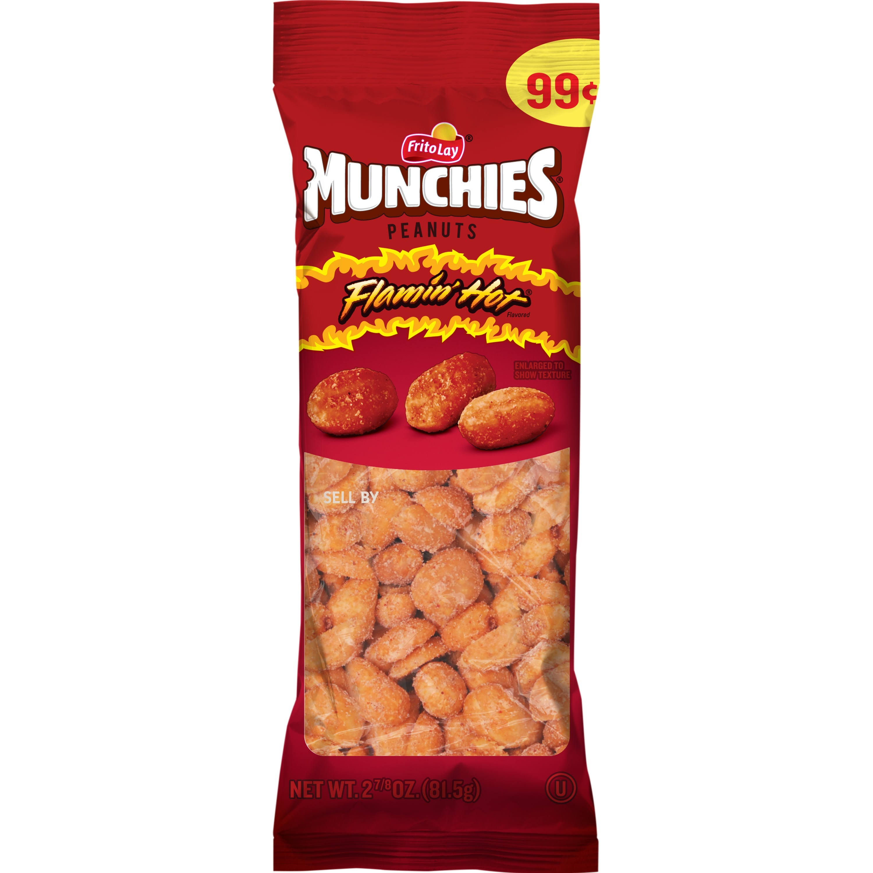 Munchies Flamin' Hot Peanuts