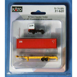 N Yard Tractor Trailer, TTX/Yellow | Kato Usa, Inc. | Vehicles & Transport | Free Shipping on All orders | Best Price Guarantee | Delivery Guarant