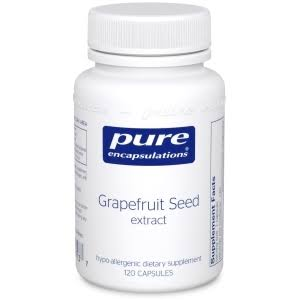 Pure Encapsulations Grapefruit Seed Extract Dietary Supplement - 120ct