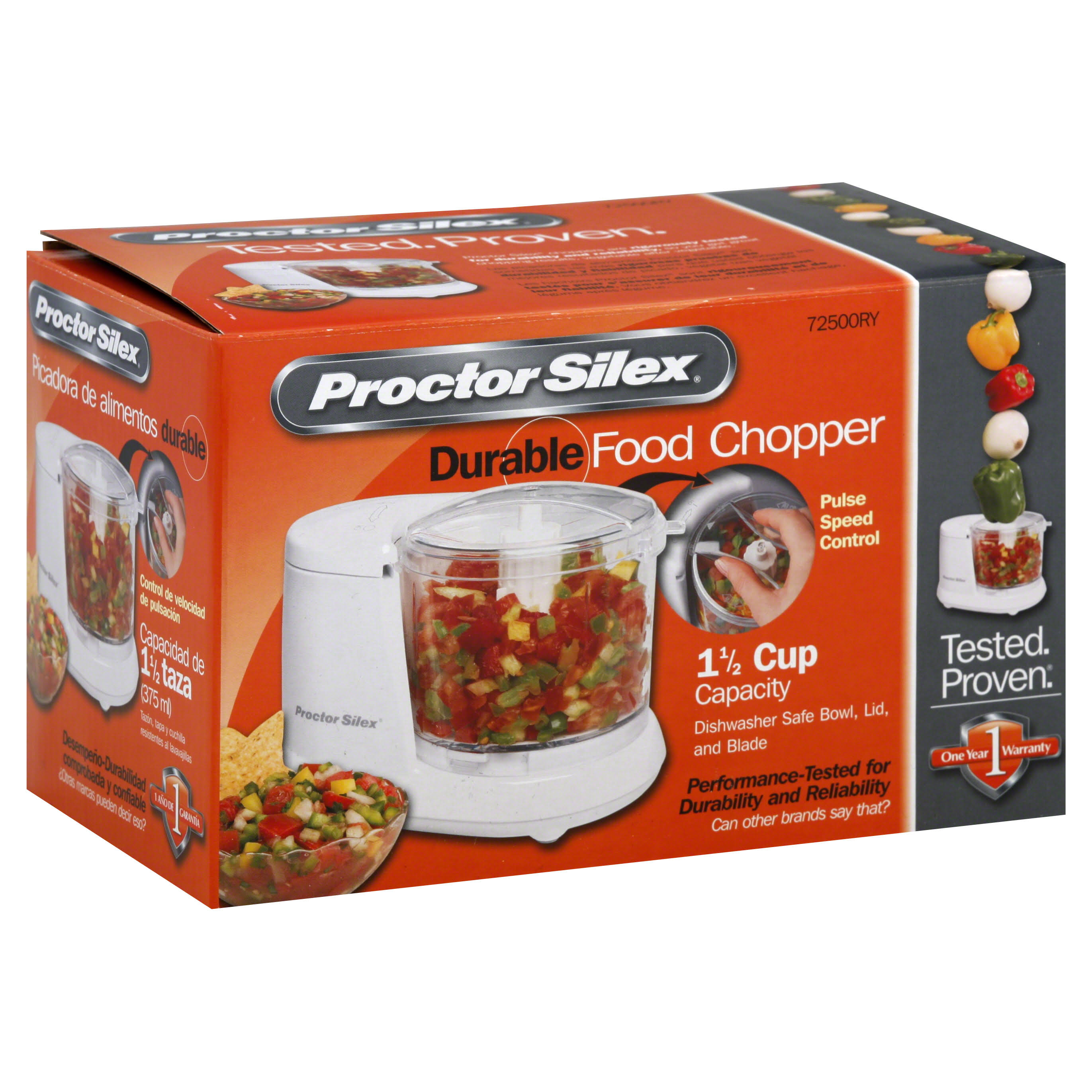 Proctor Silex Food Chopper - 1-1/2 Cup