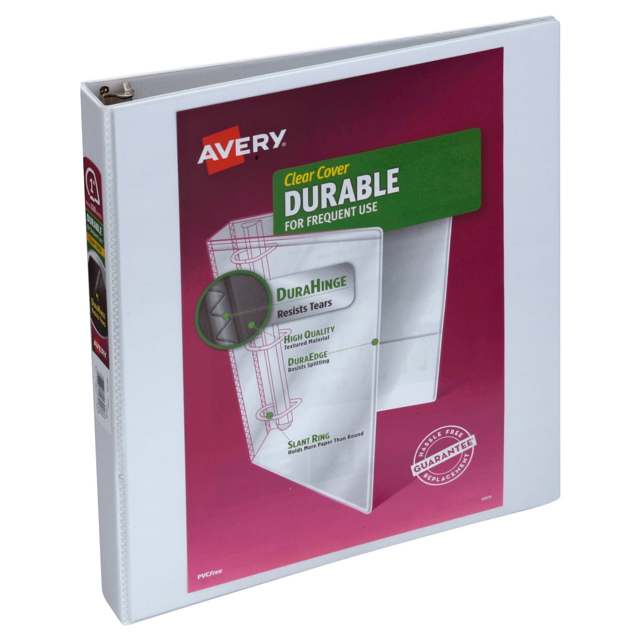 Avery Durable Clear Cover Binder - 1in