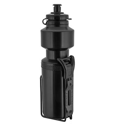 Sunlite Water Bottle with Cage - Black