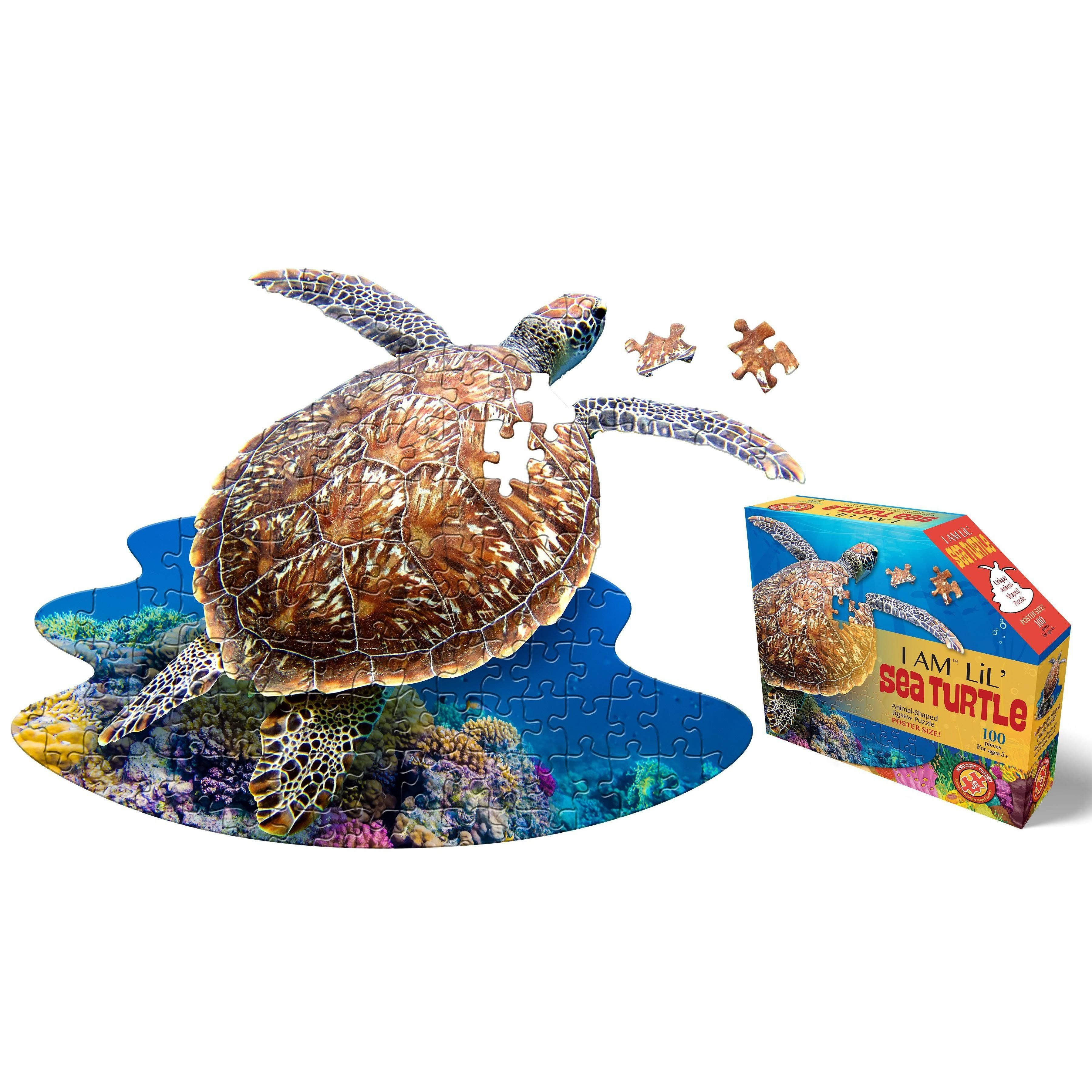 Madd Capp I Am Lil Sea Turtle Puzzle