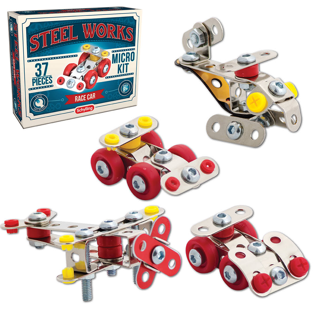 Schylling - Steel Works Micro Kits
