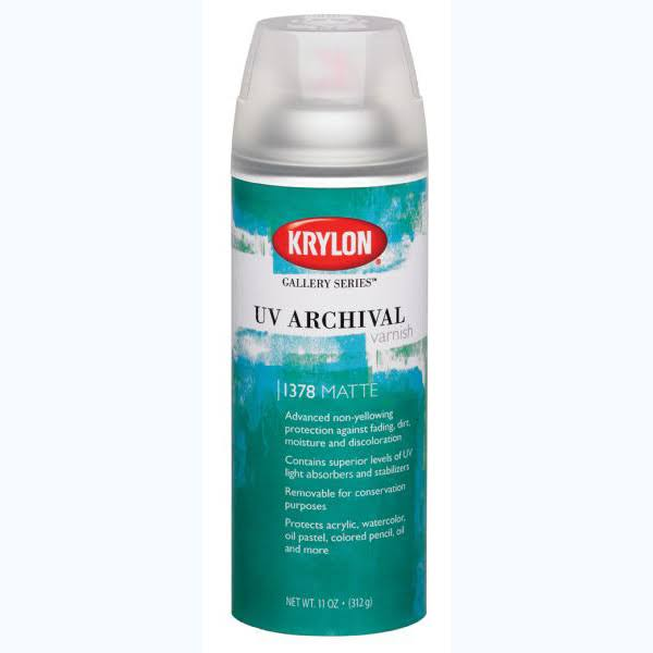 Krylon Gallery Series UV Archival Varnish - 312g