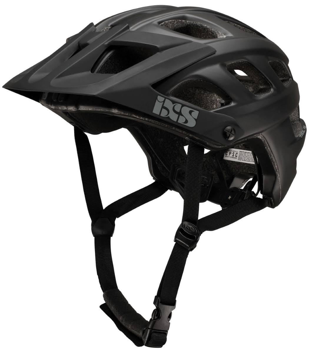 IXS Trail RS Evo Bike Helmet - Black, X-Large, 58-62cm