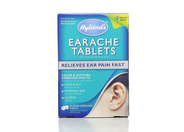 Hyland's Earache Tablets - 40 Count