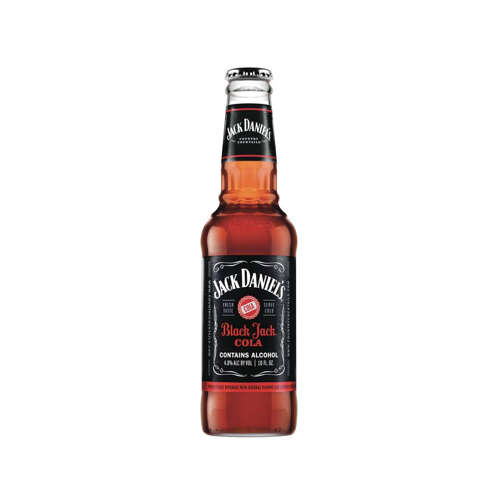 Jack Daniel's Country Cocktails Black Jack Cola - 10oz