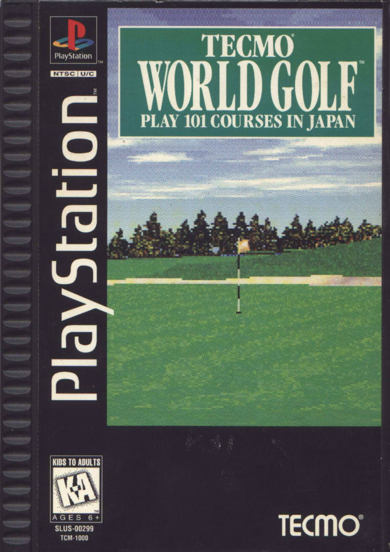 Tecmo World Golf - PlayStation