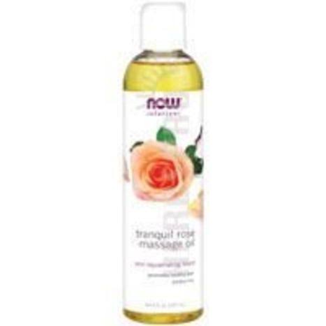 Now Foods Tranquil Rose Massage Oil - 8 oz