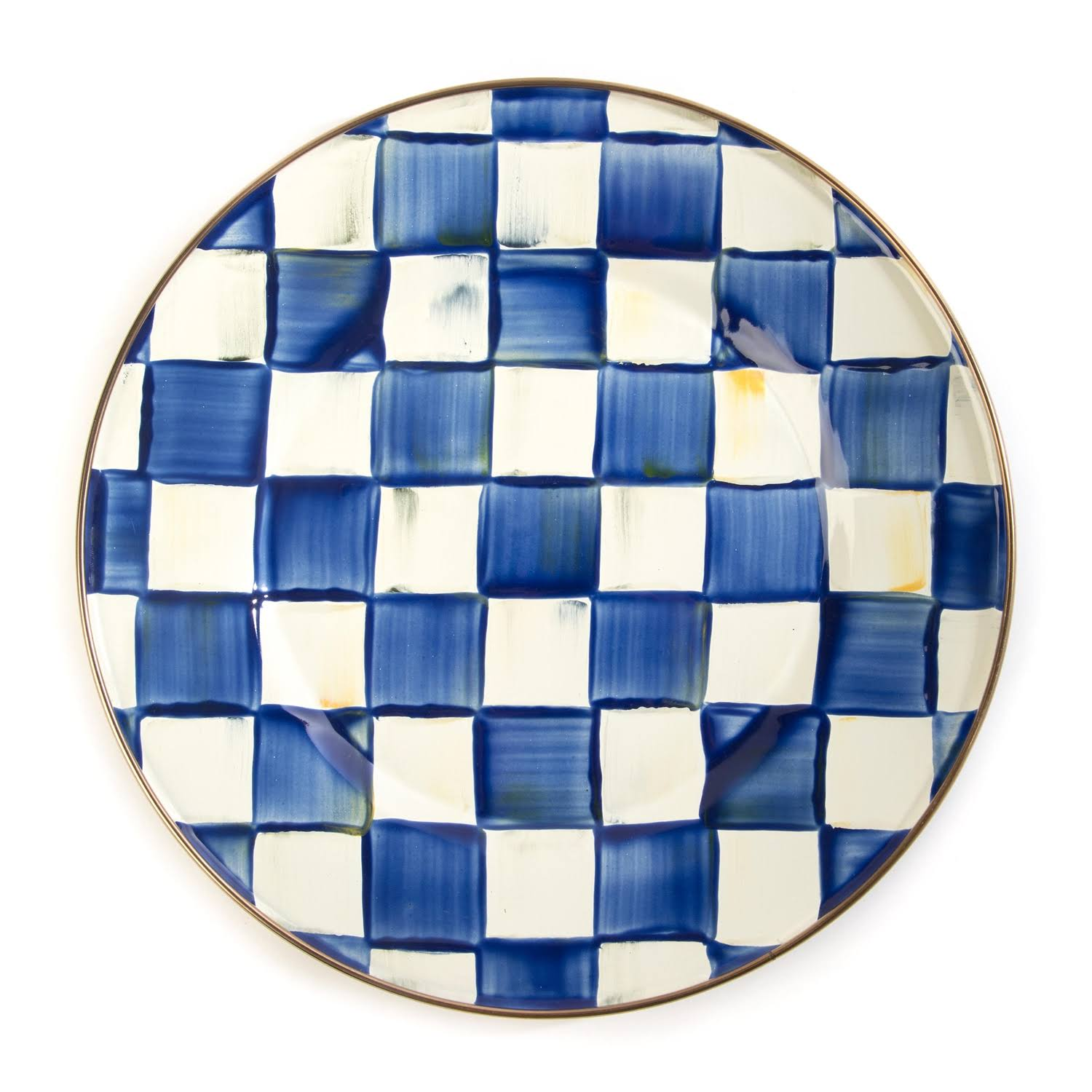 MacKenzie-Childs - Royal Check Dinner Plate