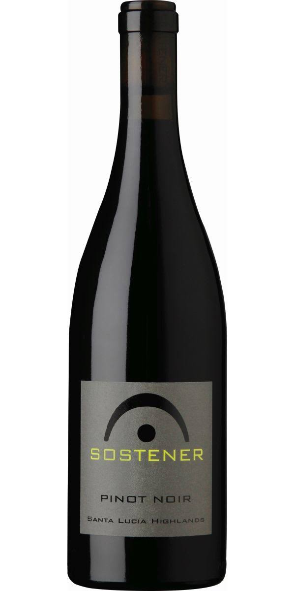 Sostener Pinot Noir, California (Vintage Varies) - 750 ml bottle