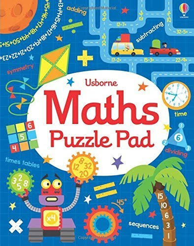 Math Puzzle Pad (was Math Games Pad) [Book]