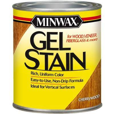 Minwax 66070 Gel Stain - Cherry Wood, 1qt