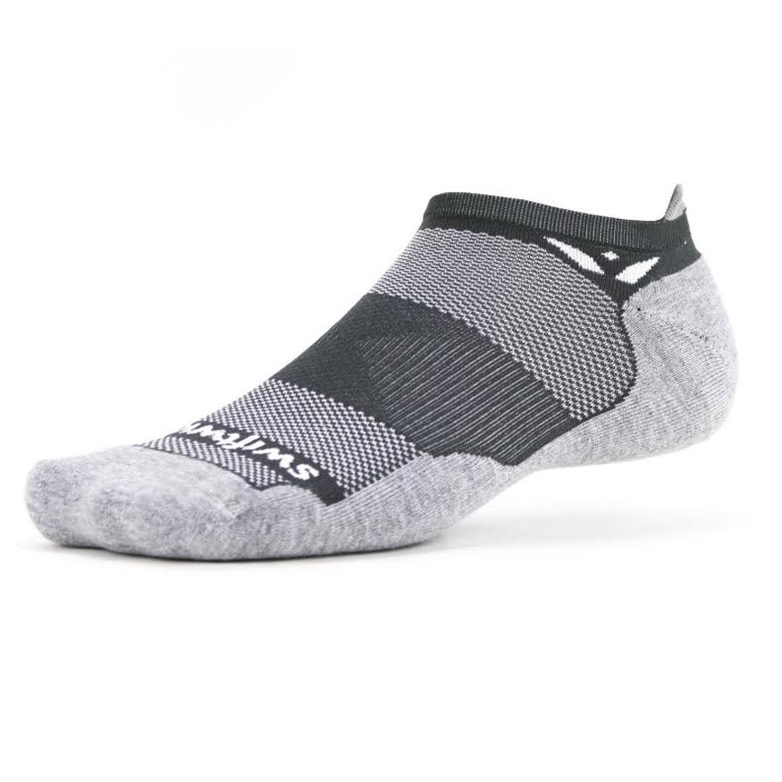 Swiftwick Maxus Zero Tab Sock (Grey) Medium