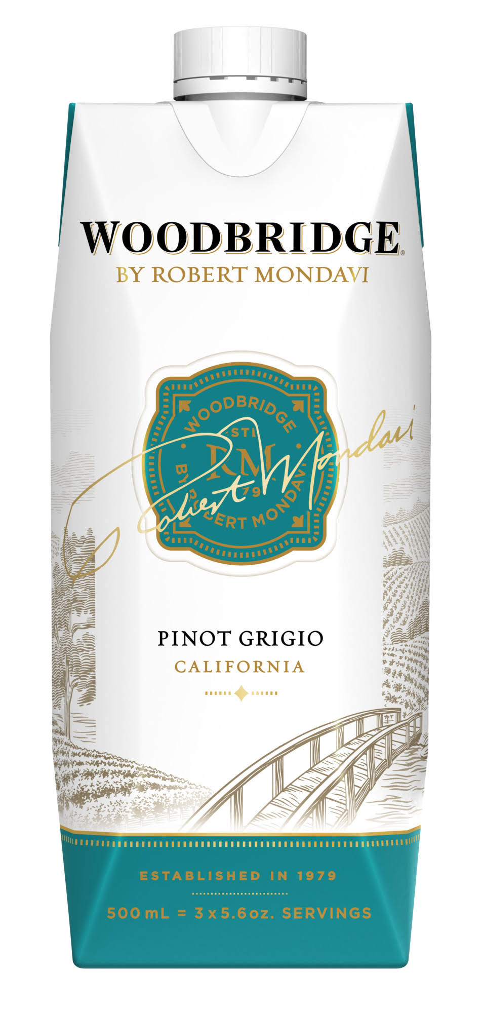 Woodbridge Pinot Grigio, California, V.2018 - 500 ml
