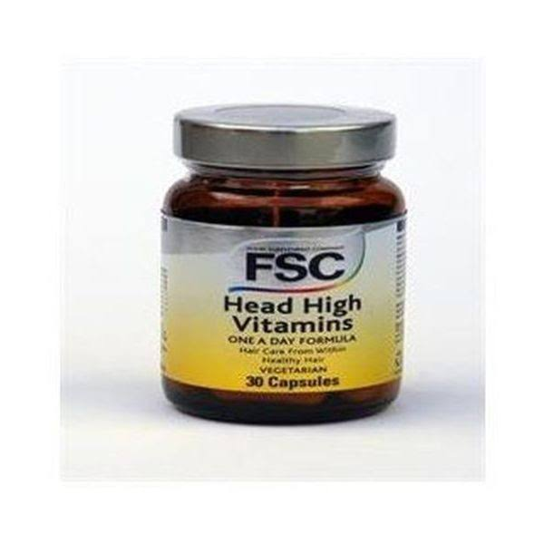 FSC Head High Hair Vitamins & Minerals - 30 Capsules