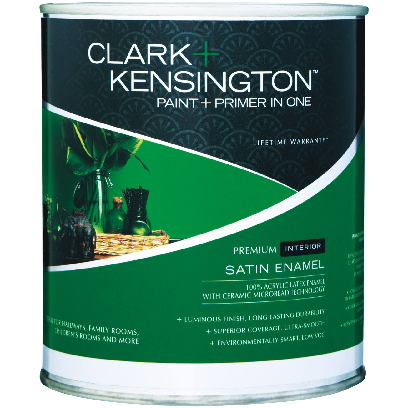 Clark+Kensington Paint and Primer in One - Satin Enamel