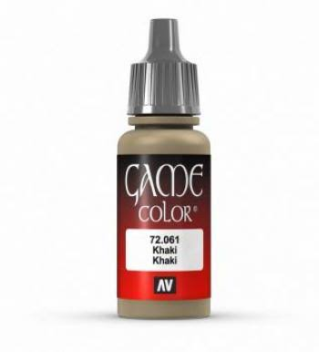 Vallejo Game Color Paint - Khaki, 17ml