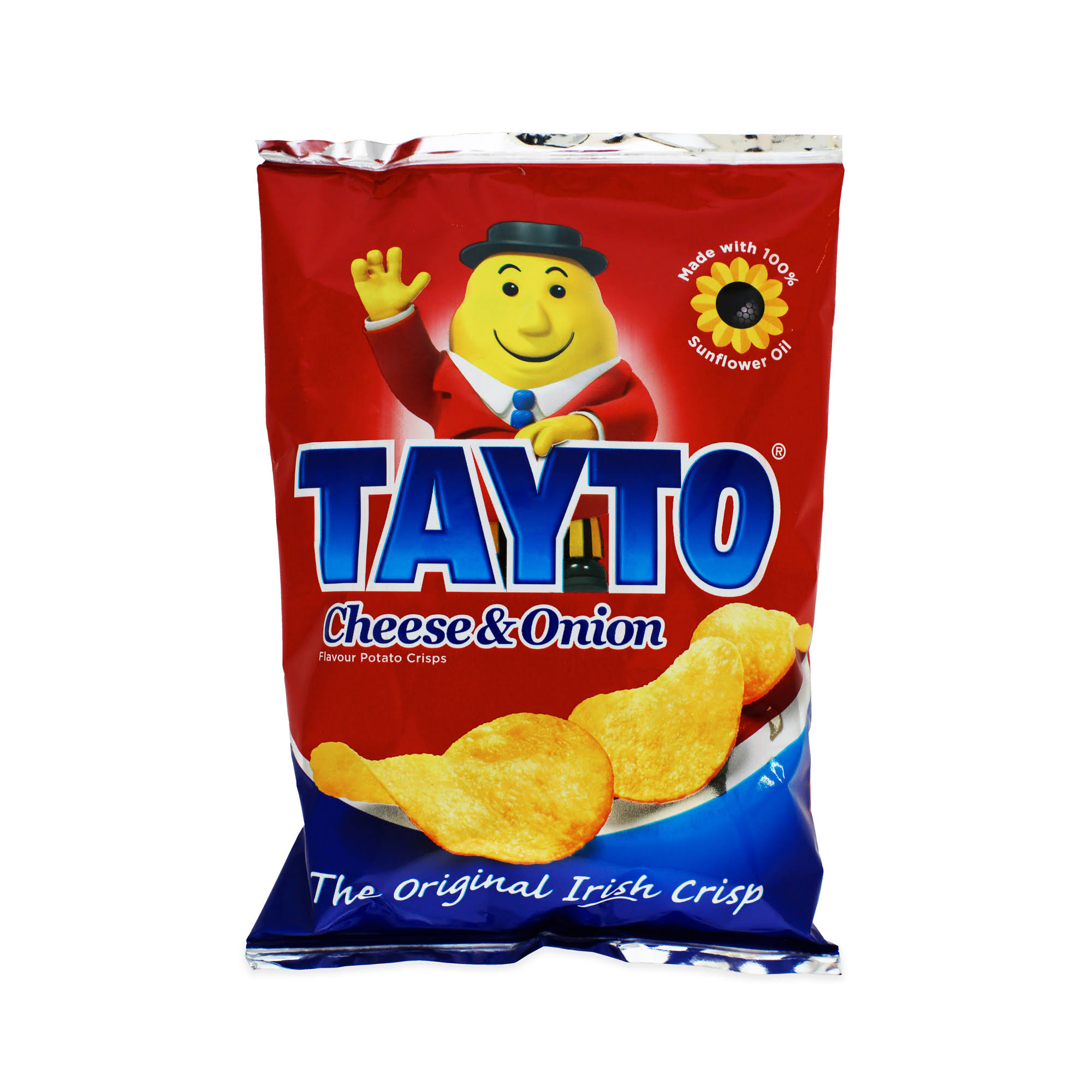 Tayto Crisps - Cheese & Onion