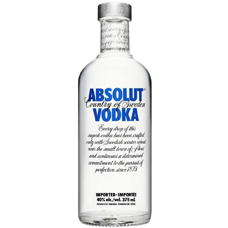 Absolut Vodka - 375 ml bottle