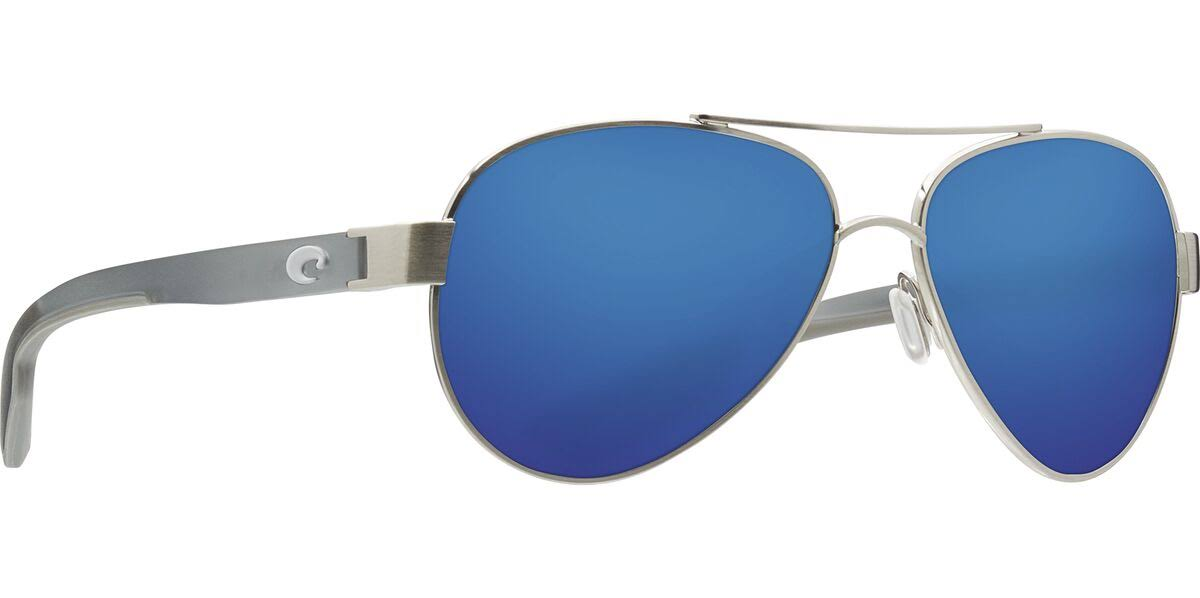 Ocearch Loreto | Costa Sunglasses Brushed Silver / Blue Mirror