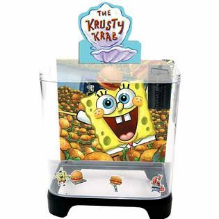 Penn Plax Sponge Bob Kit with Filter, 1.5 gal.