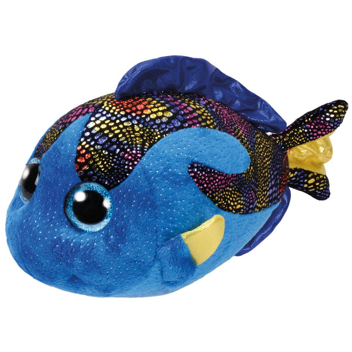 Ty Beanie Boos Aqua The Blue Fish Boo Buddy Plush Toy