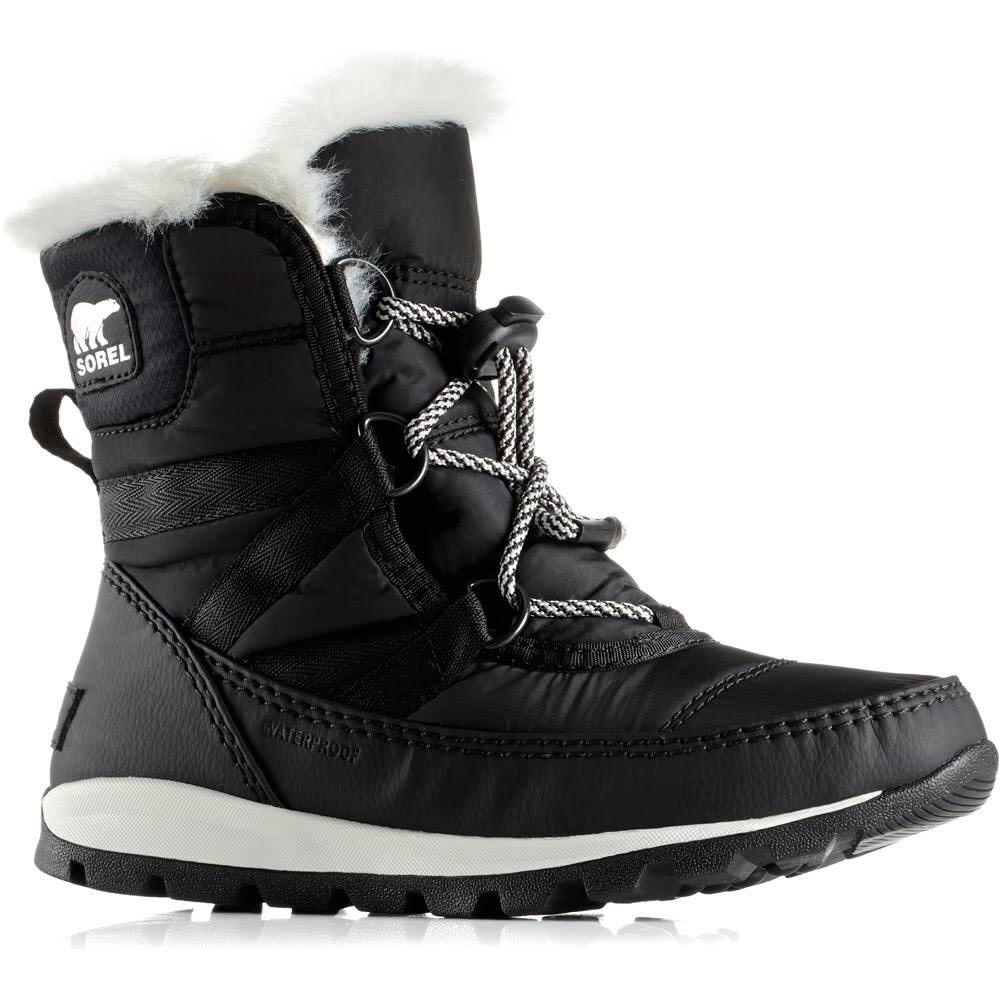 Sorel Youth Whitney Winter Boots - Black