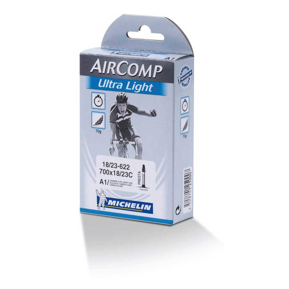 Michelin Aircomp Ultra Light Road Bicycle Tubes - 40mm