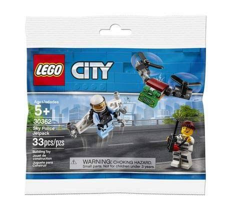 Lego City Sky Police Jetpack Building Toy - 33pcs