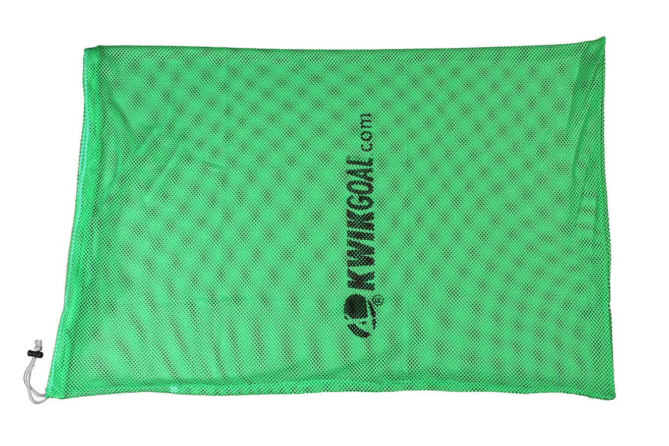 Kwik Goal Soccer Hi Vis Equipment Bag - Fluorescent Green