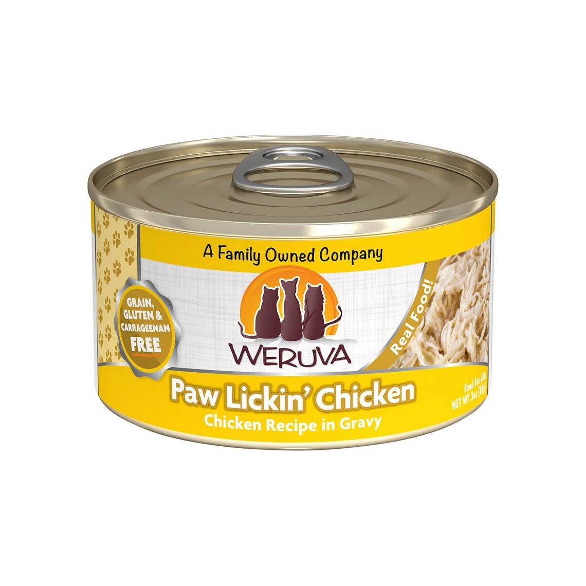 Weruva Grain Free Canned Cat Food - Lickin Chicken, Adult
