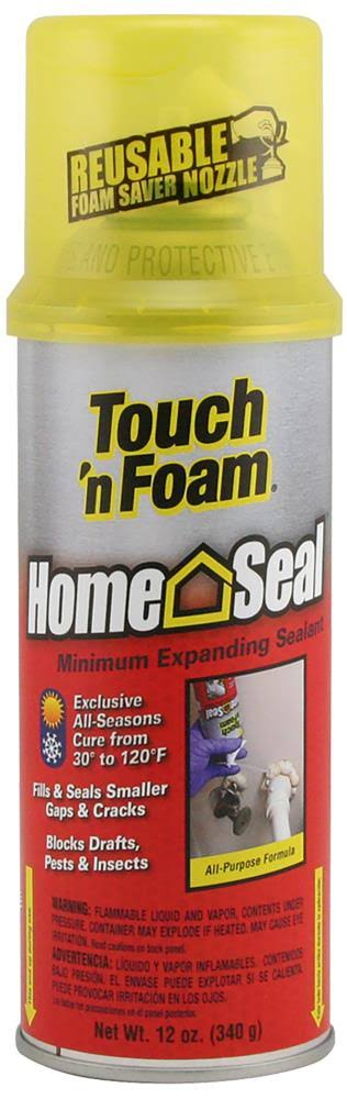 Touch 'n Foam Home Seal Minimal Expanding Sealant - 12oz