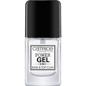 Catrice Power Gel 2 In 1 Base and Top Nail Coat - 10.5ml